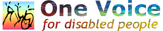 One Voice - for disabled people